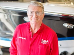 Michael Foster boat accessories store manager at Stokley's Marine