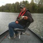 Brown Family crappie Fishing trip on their new Tracker boat
